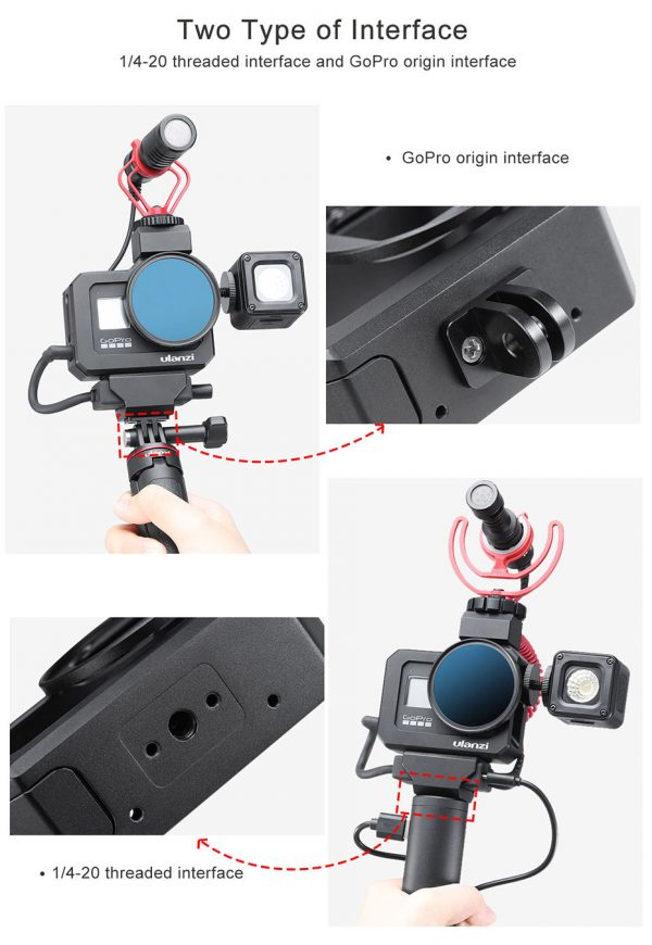 Ulanzi India 1761 G8-5 Vlogging cage for GoPro 8