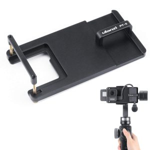 Ulanzi PT-6 Gimbal Mic Adapter Plate for GoPro-india-tiyana