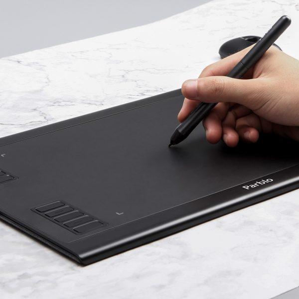 Parblo A610 Plus Digital Tablet Graphics Drawing Tablet-india-tiyana