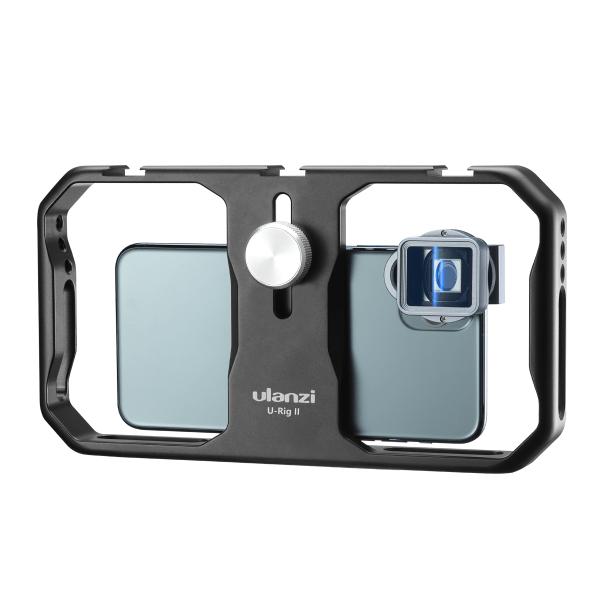 Ulanzi U-Rig II Stabilizer Metal Rig Phone Cage for Smartphone-india-tiyana
