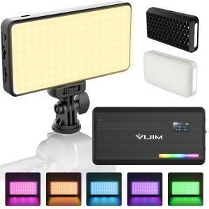 VIJIM VL196 RGB LED Video Light 12W PD Fast Charging-india-tiyana