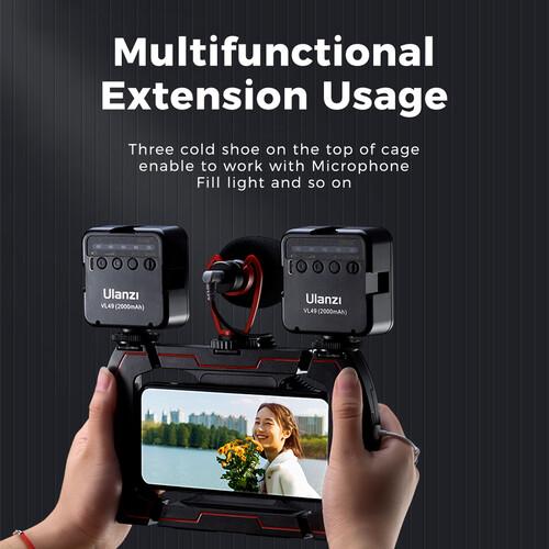 U-Rig Lite Wireless Charging Handheld Vlogging Cage-india-tiyana