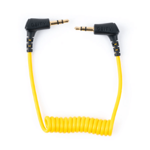 Deity TRRS coiled audio cable for V-mic D3 / D3 pro / D3 pro location kit