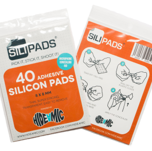 Hide-A-Mic Sili-pad, super adhesive glue pad